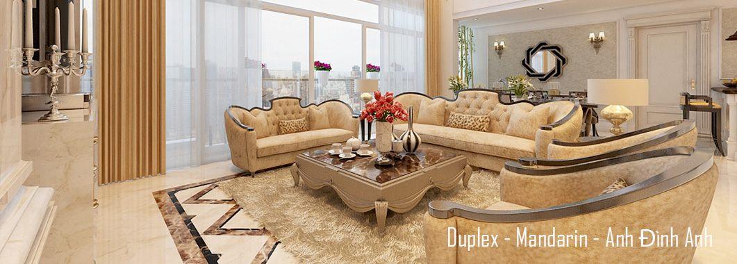 Thiết kế nội thất căn hộ Duplex Mandarin Garden - Nhà anh Đình Anh