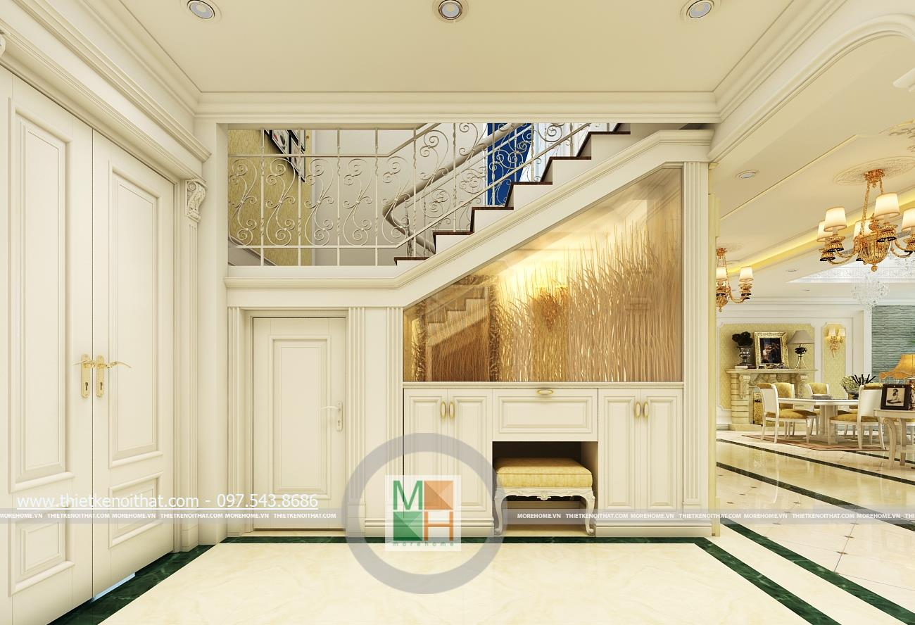 Thiết kế nội thất chung cư Mandarin Garden - Căn hộ DUPLEX