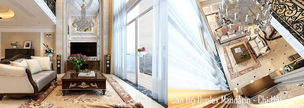 Thiết kế nội thất chung cư cao cấp - Duplex Mandarin Garden