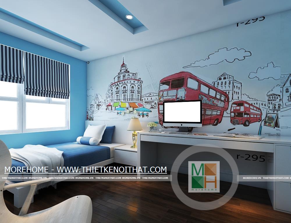 Thiết kế nội thất phòng ngủ Mandarin Garden
