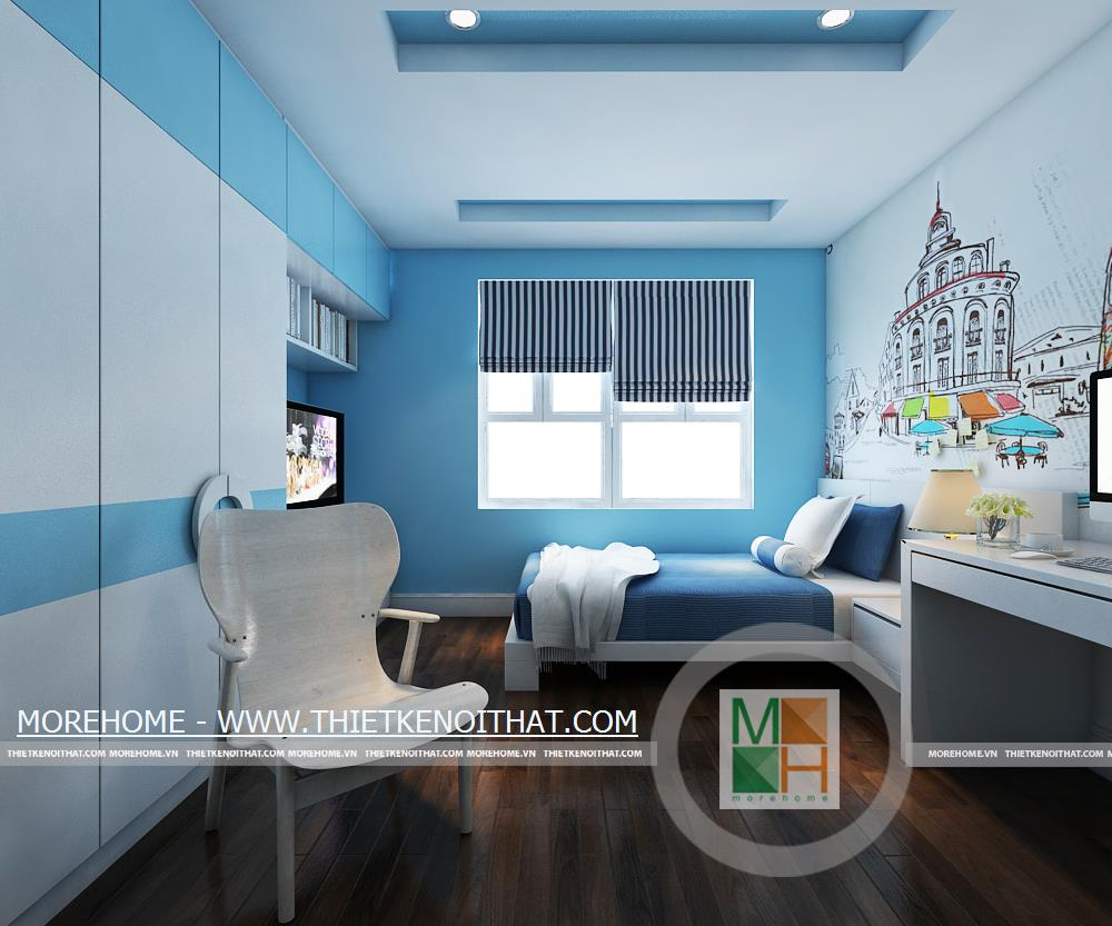 Thiết kế phòng ngủ nội thất Mandarin Garden
