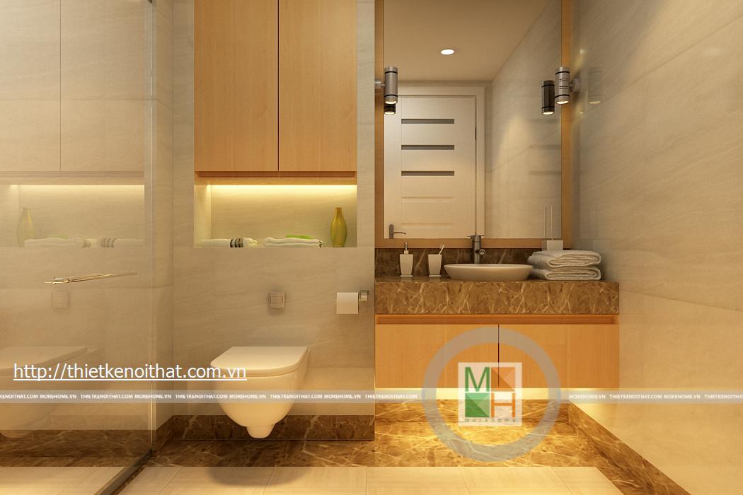 Thiết kế thi công nội thất chung cu Mandarin Garden Hòa Phát