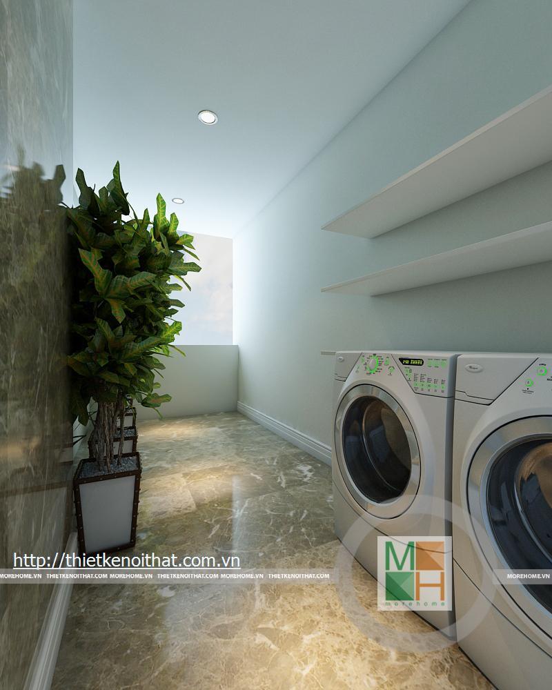 Thiết kế nội thất căn hộ chung cư Mandarin Garden