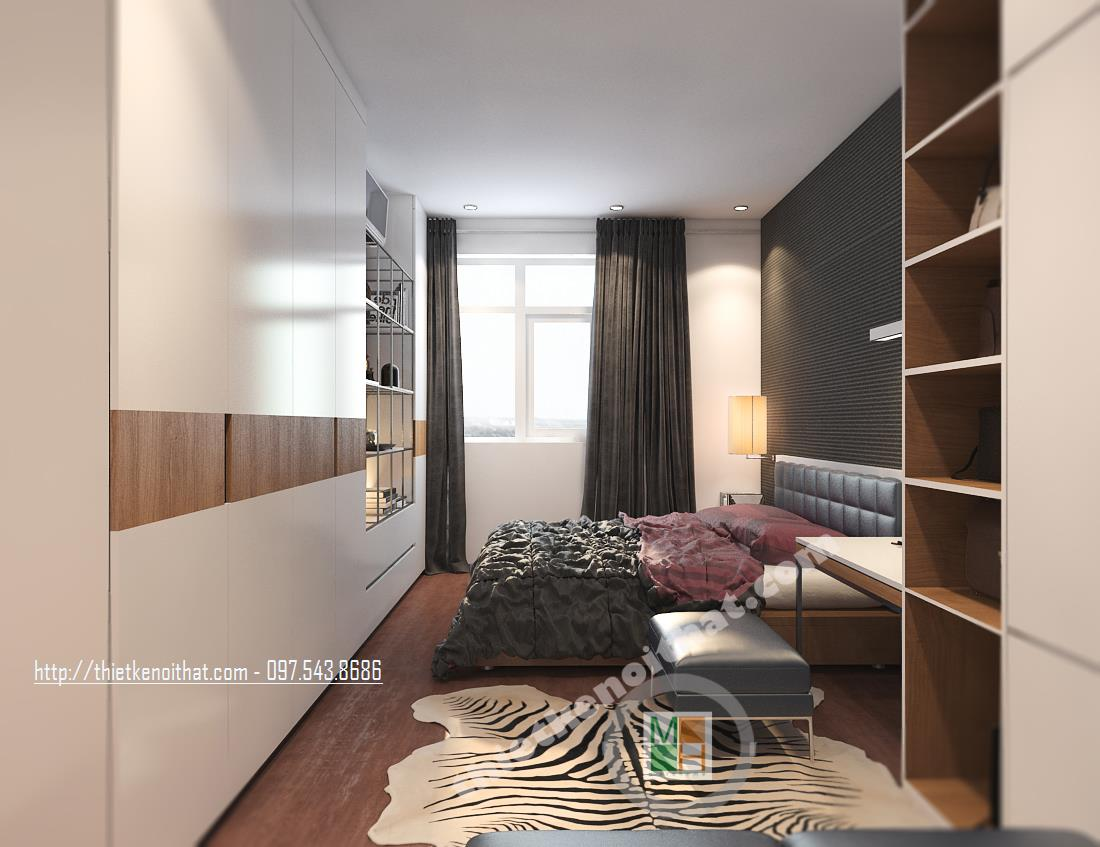 Thiết kế nội thất chung cư hiện đại tại Trung Yên Plaza