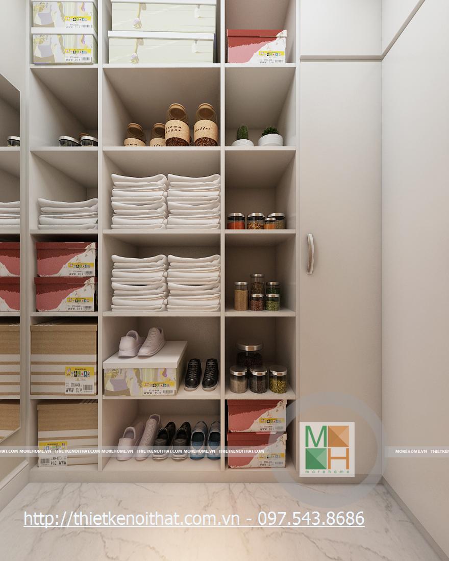 Thiết kế nội thất chung cư hiện đại trẻ trung