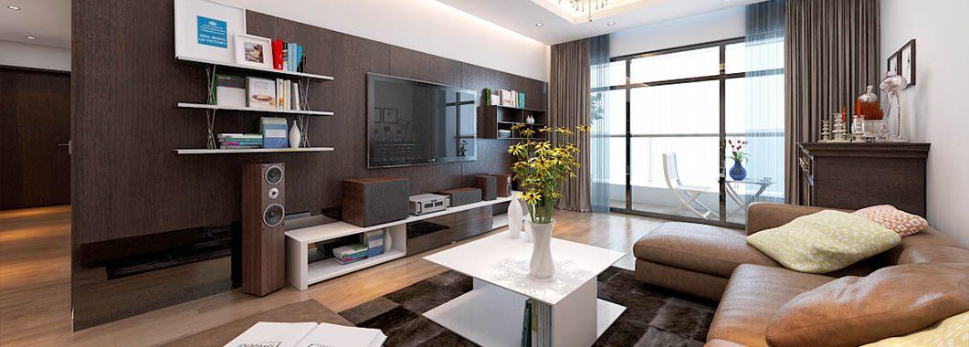 Thiết kế nội thất hiện đại chung cư Mandarin Garden Hòa Phát