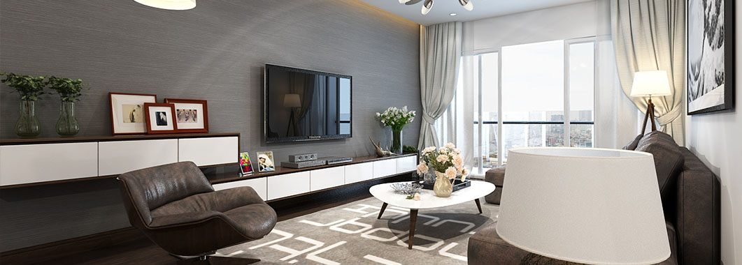 Thiết kế nội thất căn hộ chung cư Mandarin Garden Hòa Phát