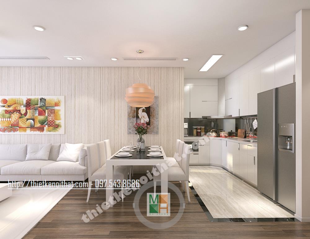 Thiết kế nội thất chung cư Golden Palace