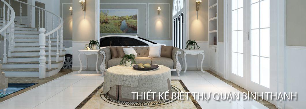 Thiết kế nội thất biệt thự tân cổ điển tại Hồ Chí Minh