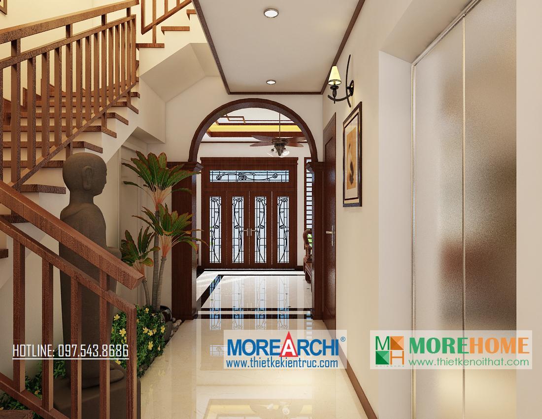 Tổng hợp mẫu cửa gỗ tự nhiên 4 cánh, cửa gỗ thông phòng tại biệt thự hiện đại