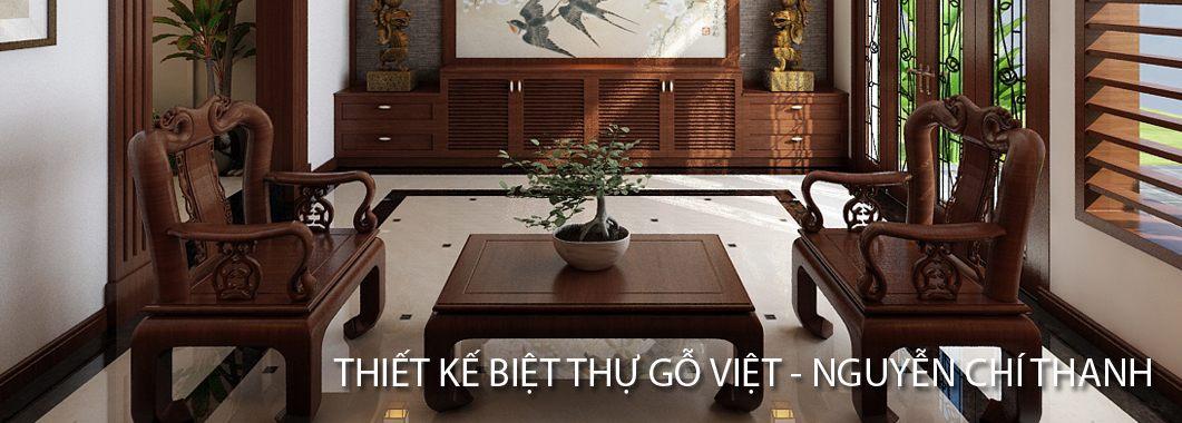 Thiết kế nội thất biệt thự gỗ việt Nguyễn Chí Thanh Đống Đa Hà Nội phong cách hiện đại