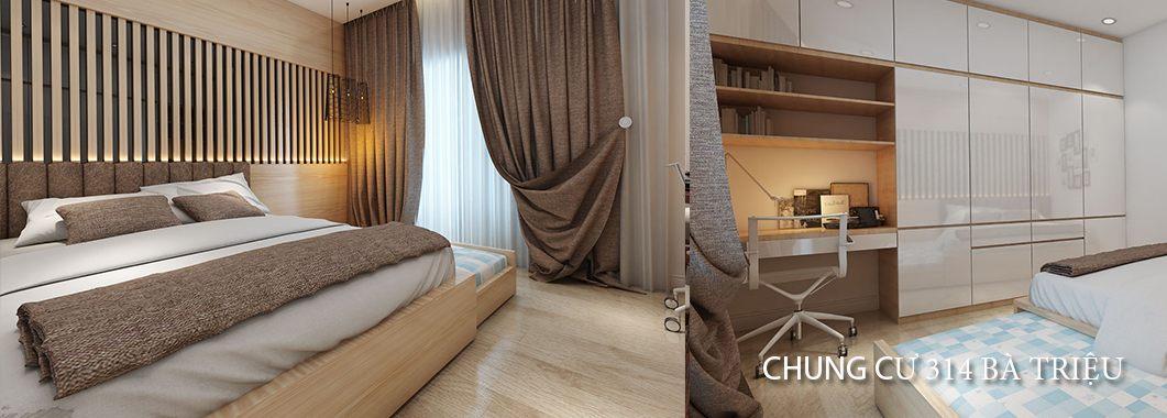 Thiết kế căn hộ chung cư nhỏ, hiện đại - tại Bà Triệu