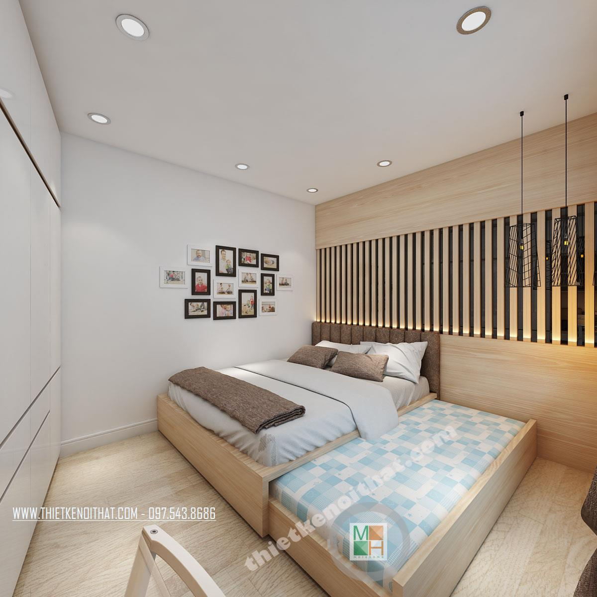 Thiết kế căn hộ chung cư nhỏ, hiện đại