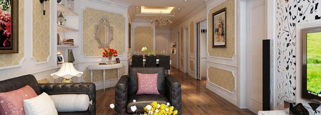Thiết kế nội thất chung cư TimesCity phong cách tân cổ điển