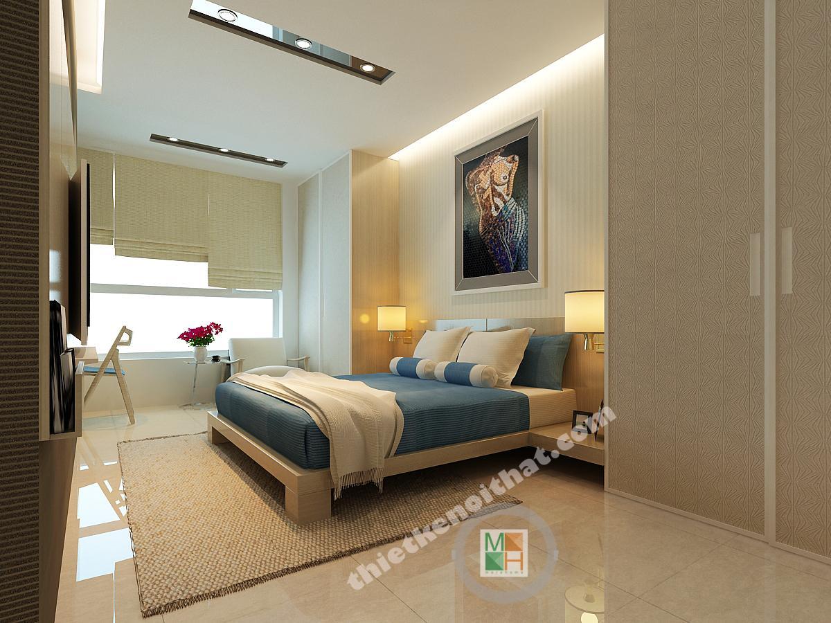 Thiết kế nội thất Penthouse tại Viglacera Hoàng Hoa Thám Ba ĐìnhHà Nội
