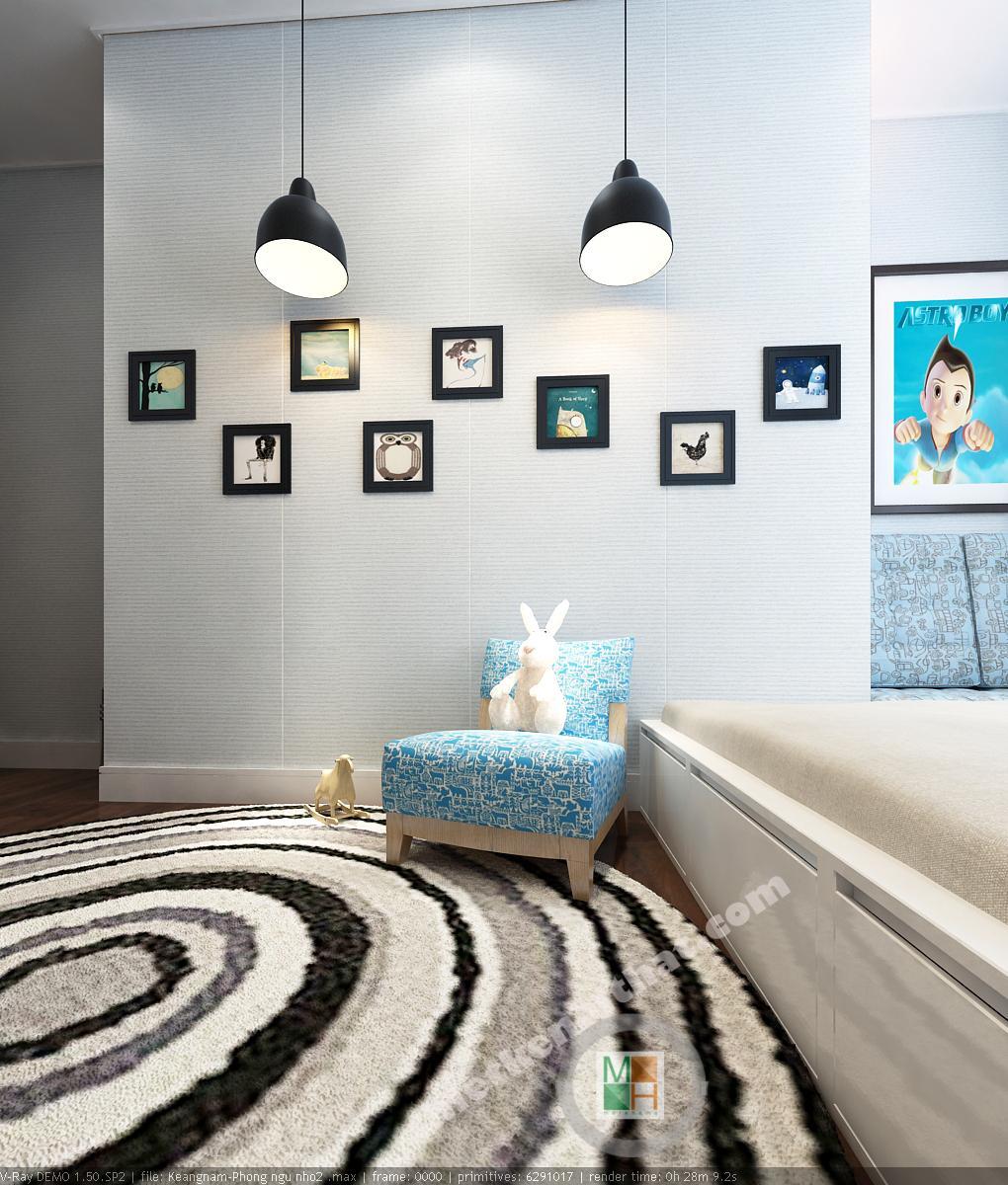Thiết kế căn hộ chung cư Keangnam theo phong cách hiện đại