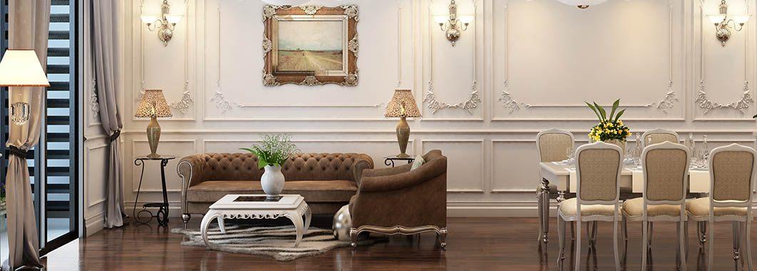 Thiết kế nội thất tân cổ điển TimesCity