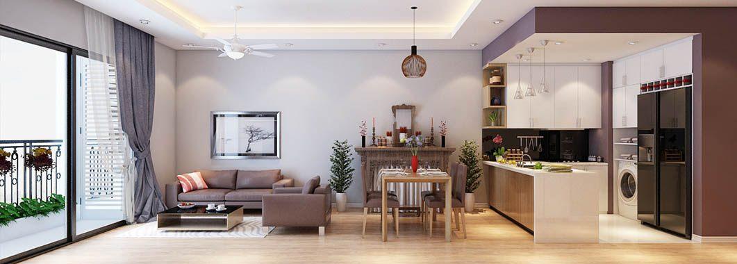 Thiết kế chung cư nhỏ Timescity