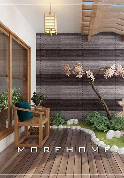 Trang trí nội thất phòng khách có ban công đẹp, độc đáo