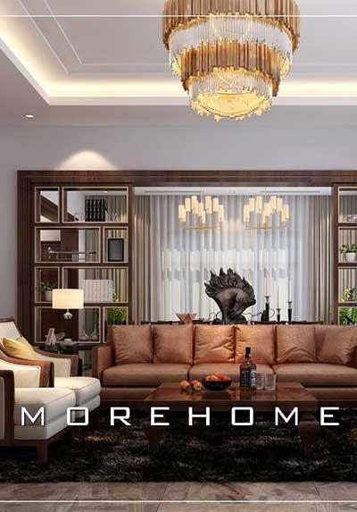 Top 33 mẫu thiết kế nội thất phòng khách cao cấp, đẹp, đa phong cách