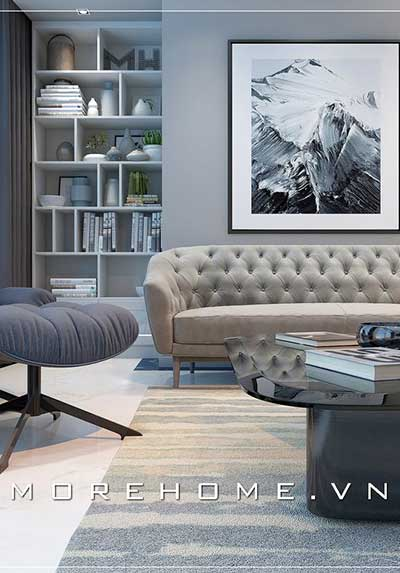 Top 40 mẫu thiết kế nội thất phòng khách chung cư đẹp, độc đáo.