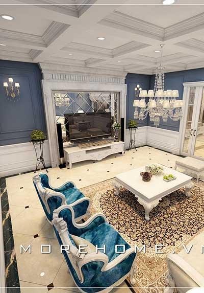 Top 36 mẫu thiết kế nội thất phòng khách cao cấp đẹp, sang trọng