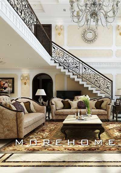 Tổng hợp các mẫu thiết kế nội thất phòng khách chung cư Siêu đẹp, Độc đáo