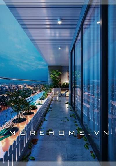 Thiết kế nội thất penthouse căn hộ chung cư Pride Hà Đông