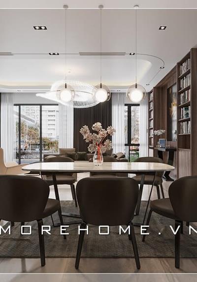 Thiết kế nội thất biệt thự hiện đại ParkCity - Anh Hiếu