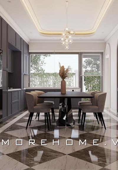 Thiết kế nội thất biệt thự đương đại cao cấp