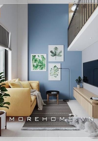 Thiết kế nội thất chung cư mini nhỏ cho thuê tại TP.HCM