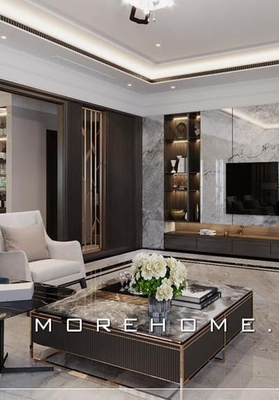 Thiết kế nội thất biệt thự hiện đại tại Hải Dương