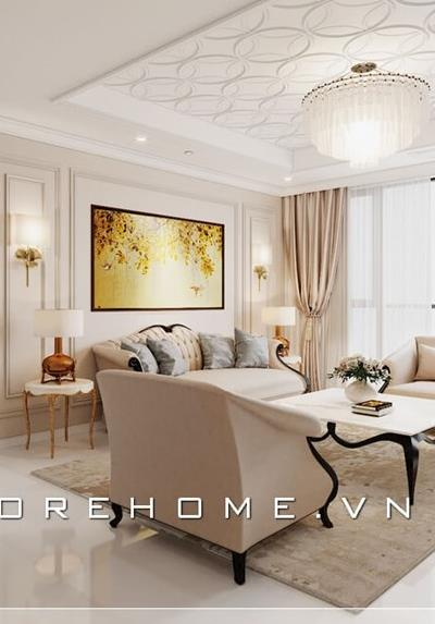 Thiết kế nội thất chung cư StarLake Tây Hồ Tây - Anh Tân