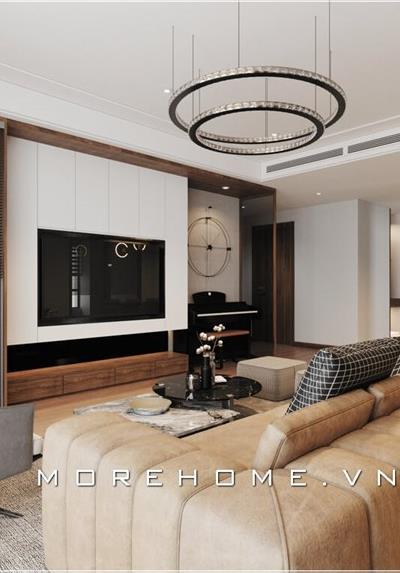 Thiết kế nội thất chung cư hiện đại 88 Láng Hạ - Anh Quang