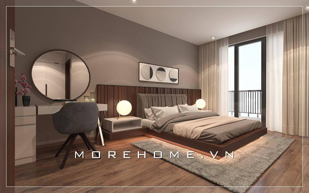 BST các mẫu nội thất phòng ngủ có ban công tuyệt đẹp đầy ấn tượng