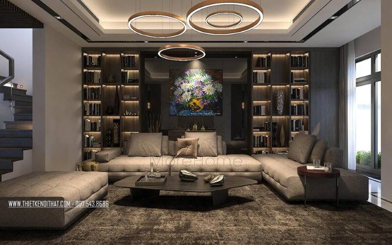 Bật mí các mẫu thiết kế phòng khách đẹp tiện nghi nhất