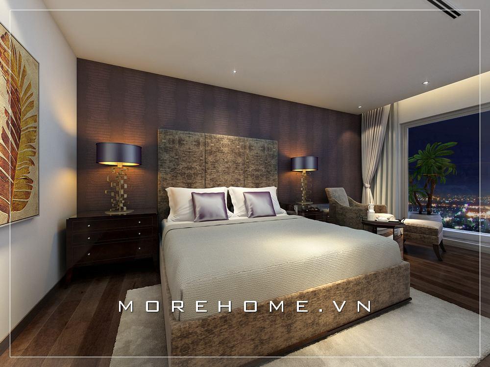 Mẫu thiết kế nội thất phòng ngủ cao cấp độc đáo, cuốn hút