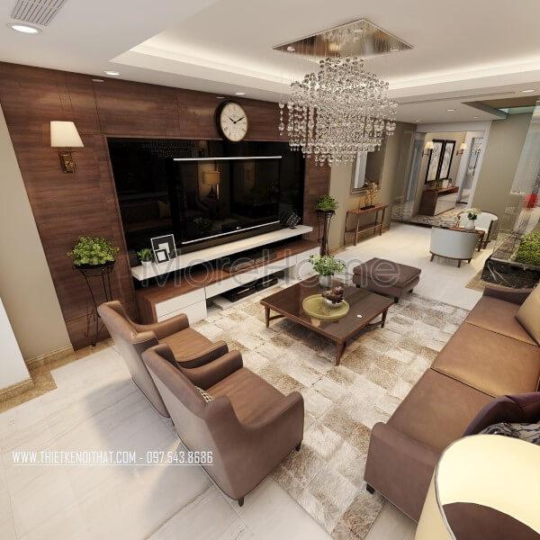 Tổng hợp các mẫu thiết kế phòng khách đẹp sang trọng