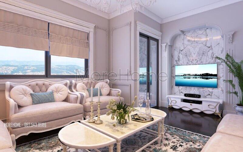 Tổng hợp những cách bố trí phòng khách chung cư cao cấp