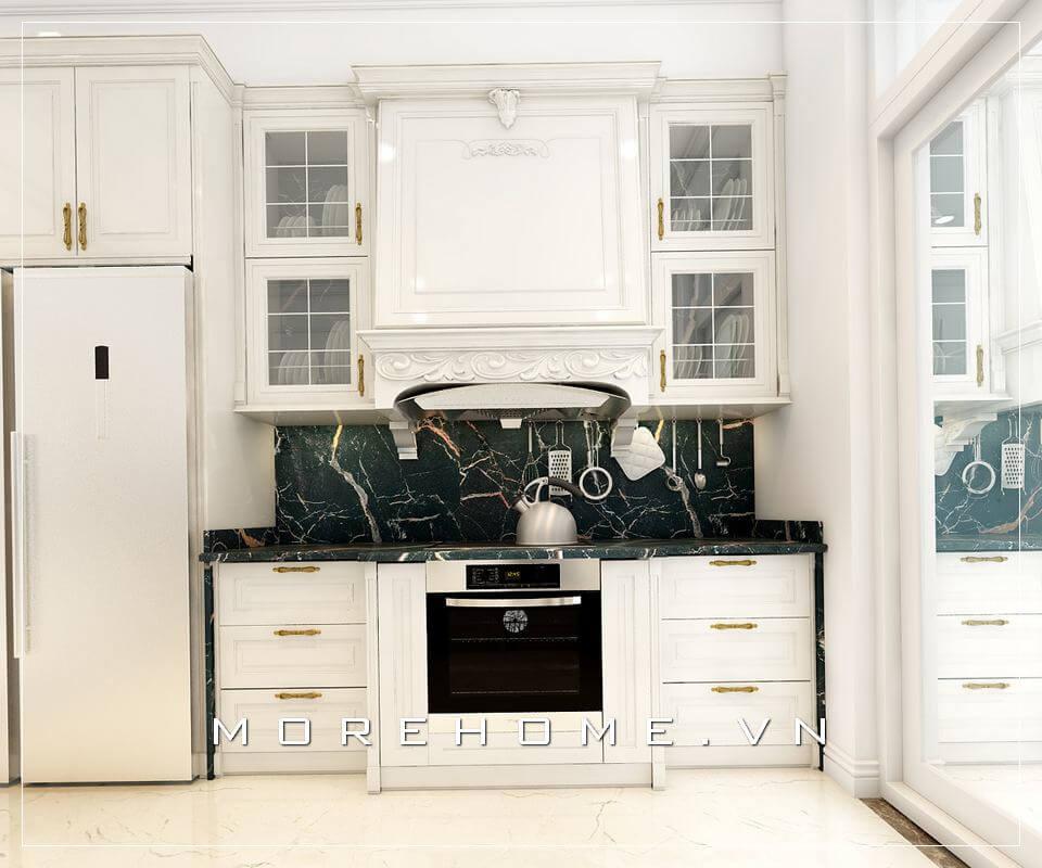 Tham khảo các mẫu trang trí phòng bếp đa năng