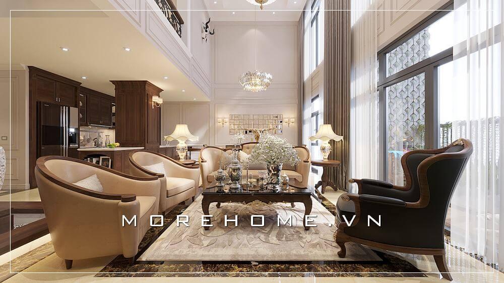 Danh sách mẫu thiết kế phòng khách chung cư độc đáo