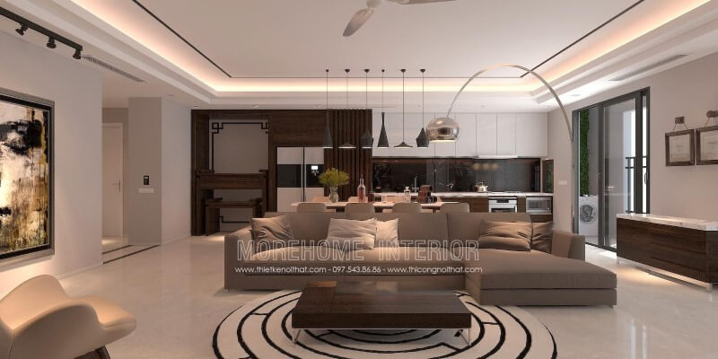 Mẫu bàn trà phòng khách đẹp cho không gian sống của gia đình bạn