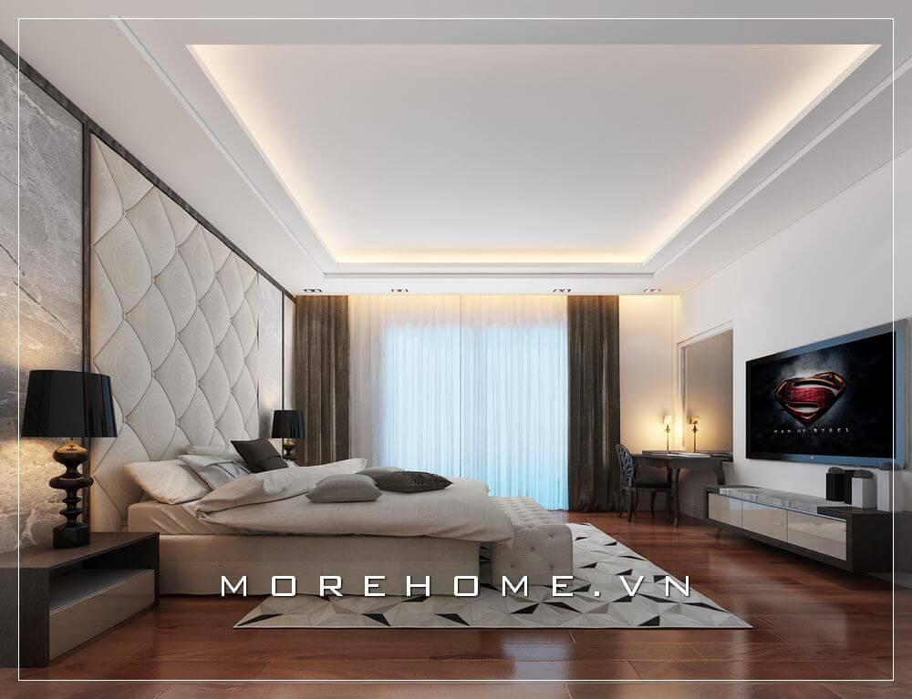 Thiết kế nội thất phòng ngủ tiện nghi ấn tượng vạn người mê