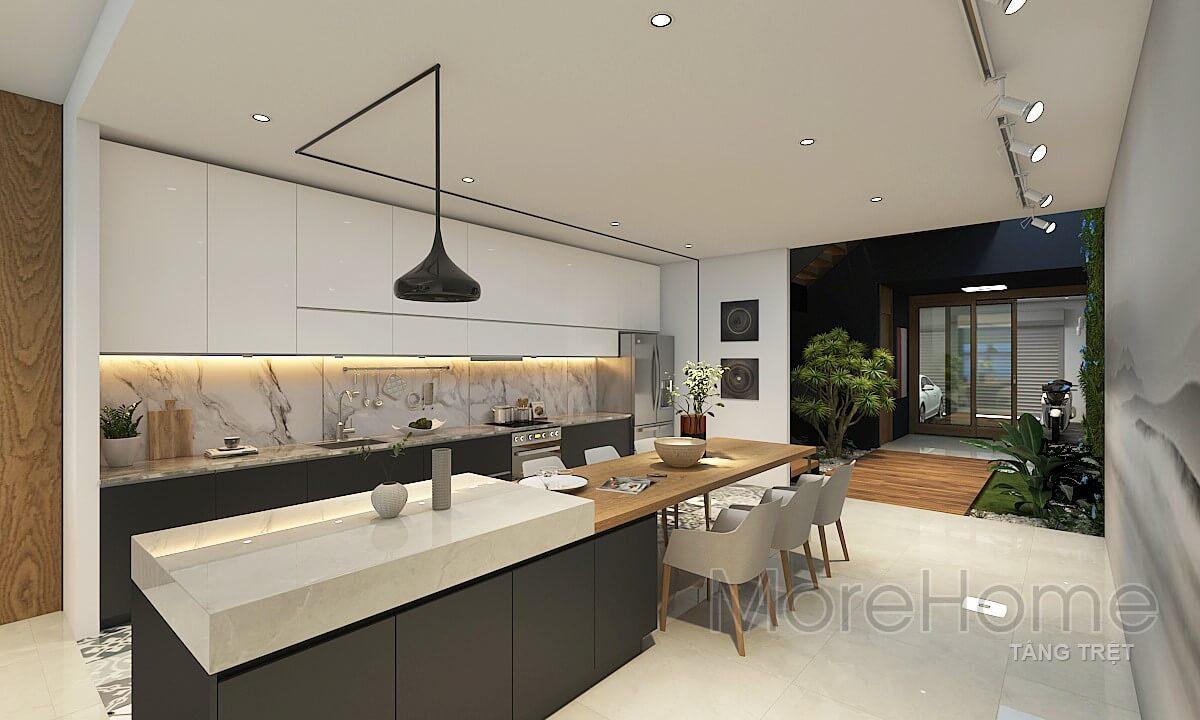 Thiết kế phòng ăn ấn tượng cho không gian sống của gia đình