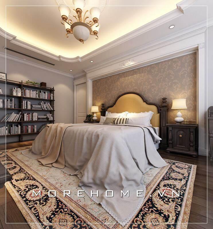 Cập nhật mẫu giường ngủ biệt thự đẹp đầy ấn tượng