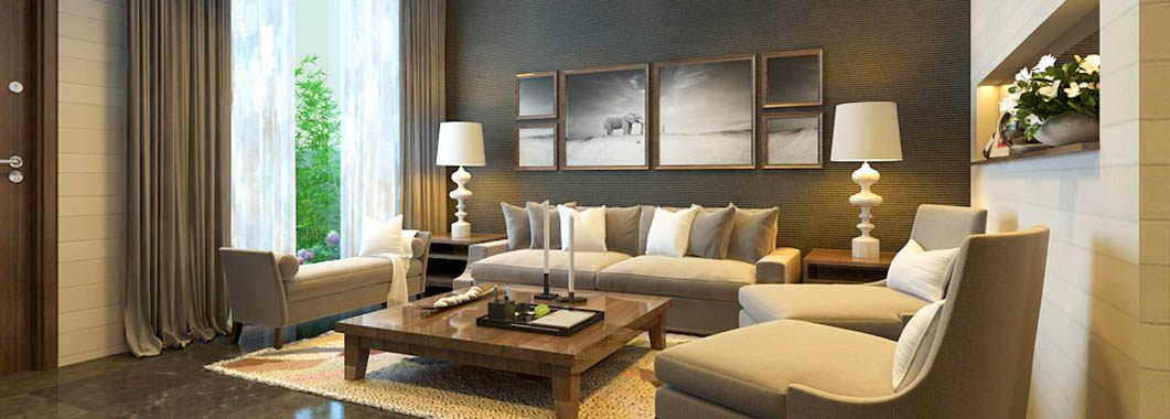 Thiết kế nội thất phòng khách biệt thự mini tại khu đô thị Paml- Việt Hưng Long BiênHà Nội