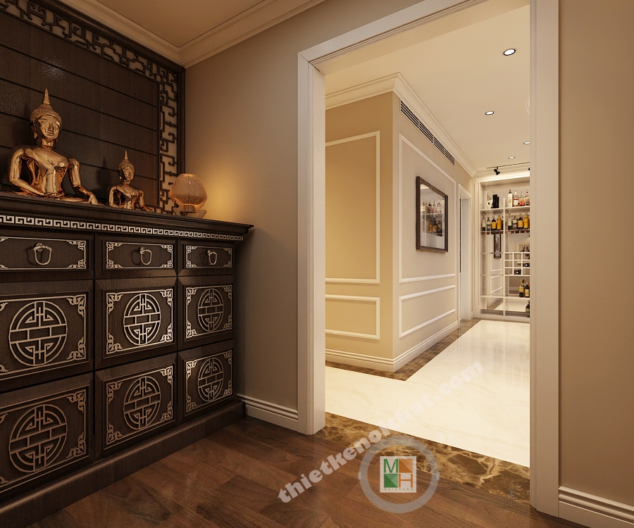 Thiết kế nội thất căn hộ chung cư cao cấp  Mandarin Garden