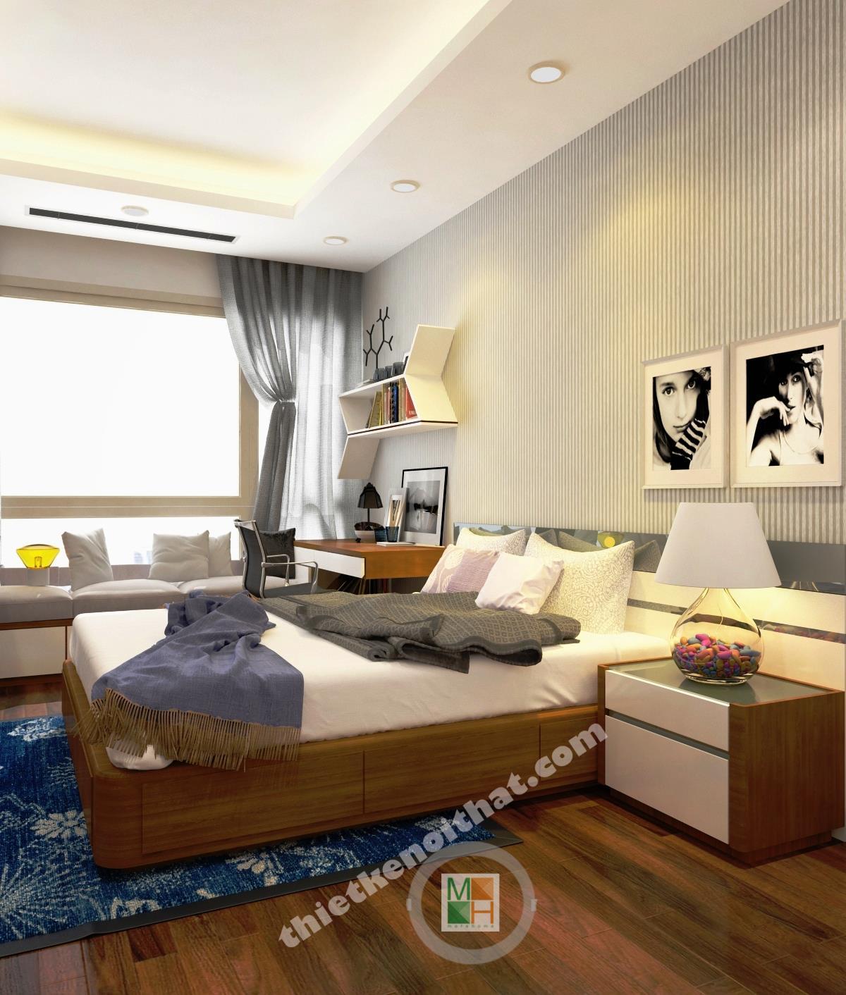 Phòng ngủ đa chức năng