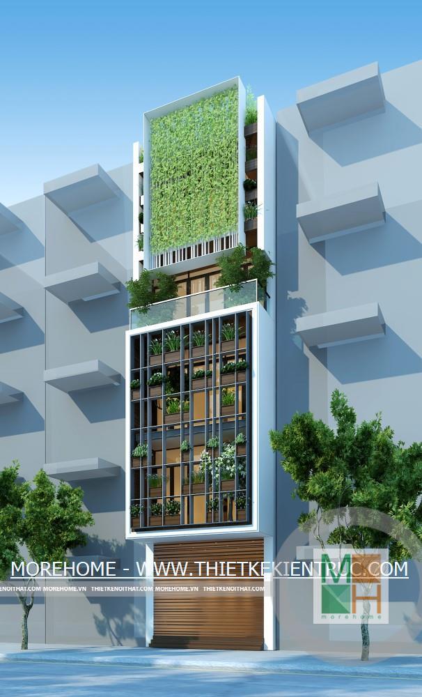 Thiết kế kiến trúc nội thất nhà phố Xuân La Tây HồHà Nội