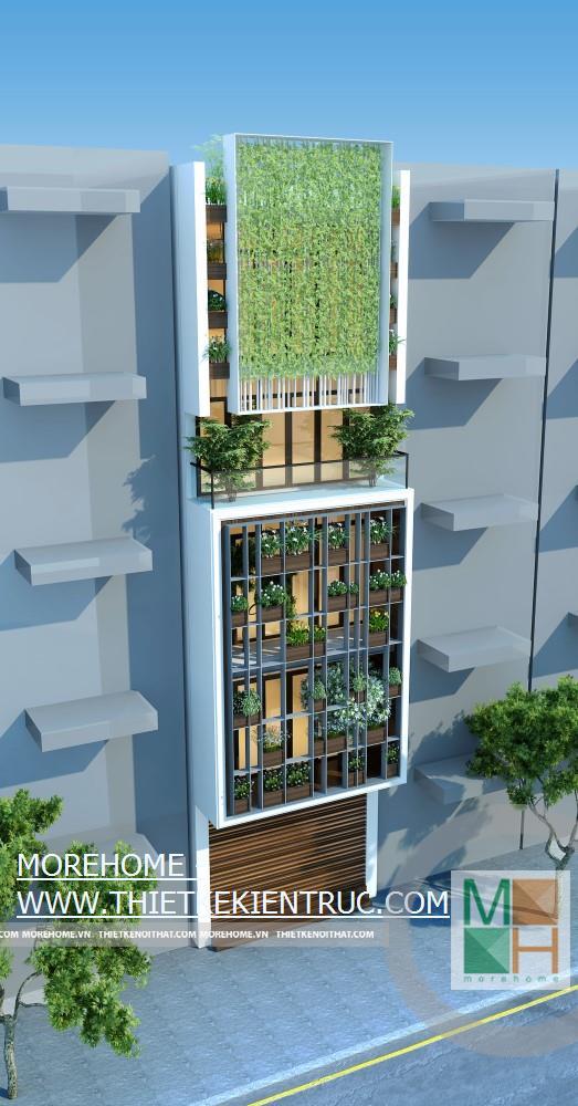 Thiết kế kiến trúc nội thất nhà phố